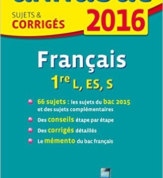 bac francais 2016